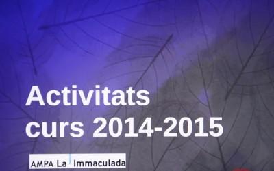 MEMÒRIA AMPA 2014-2015